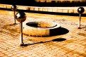 Fotografia: prazdno, fotograf: Filip Tuhý, tagy: bratislava, fontana, stu