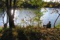 Fotografia: Rybár v Ivanke, fotograf: Matej Tichy, tagy: rybar, Ivanka, Dunajek