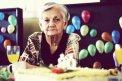 Fotografia: .80 rokov., fotograf: Matej Červeňák, tagy: babka, babicka, oslava