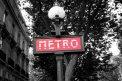 Fotografia: Nostalgia z Paríža, fotograf: Mária Tješšová, tagy: metro, Parríž