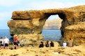 Fotografia: Priehľadné azúrové okno na ostrove Gozo..., fotograf: Michal  Turcár, tagy: azure window,gozo
