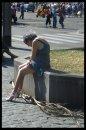 Fotografia: No Country for Old Women (Rím, Taliansko), fotograf: Pavel Bartoš, tagy: Rím, Taliansko,život na ulici, staroba