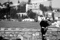 Fotografia: Mesto je moje ihrisko, fotograf: Filip Tuhý, tagy: le parkor,chlapec,mesto,cb,bw