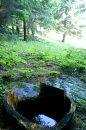 """Fotografia: """"Na tej našej Oravienke krásne je, voda si tam.., fotograf: David Durcak, tagy: príroda,priroda,voda,studna,studňa,Orava,orava,les,hora"""
