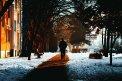 Fotografia: Na prechádzke, fotograf: Denis Goga, tagy: prechádzka, mesto, nikon, zima, sneh