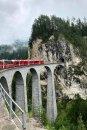 Fotografia: Landwasser Viaduct, fotograf: Filip Cák, tagy: cestovanie, Švajčiarsko, vlak